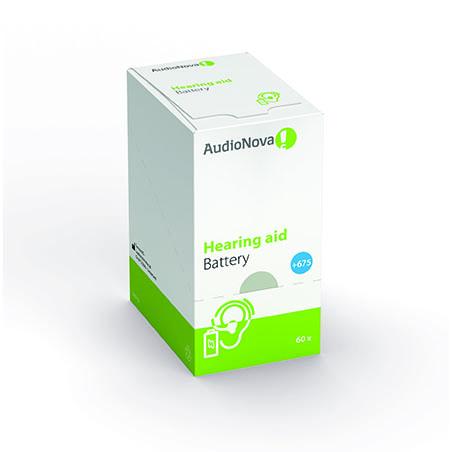 Batterie per apparecchi acustici taglia 675